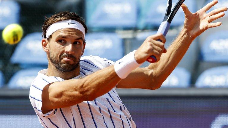 Първа победа за Григор на турнира в Ница