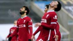 """Храбри """"джордита"""" и блестящ вратар изтръгнаха точката от шампиона Ливърпул"""