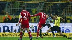 През ноември Байерн победи Дортмунд с 3:0 като гост.