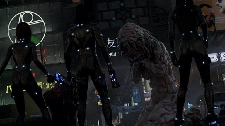 2. Gantz:O (2016, оценка 7,2/10 в IMDB) - Пълнометражно аниме, в което наскоро починали хора биват съживени и оборудвани с високо-технологични оръжия. Защо? За да се борят с армия от чудовища, която напада Токио и Осака.  Gantz:О е адаптация на мангата Gantz и е една по-нова продукция, която може да ви удиви с някои от визуалните си детайли.