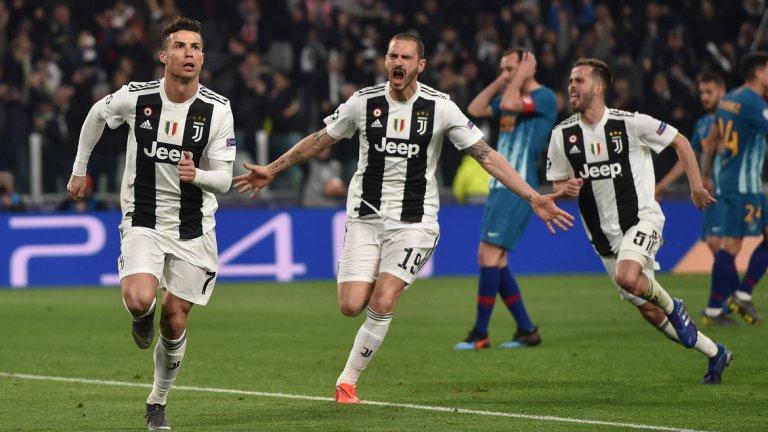 С хеттрика си Роналдо отново доказа, че няма равен, когато става въпрос за Шампионската лига