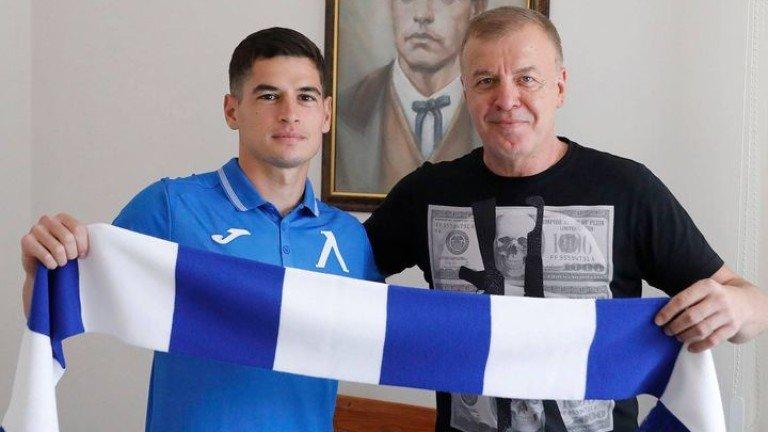 """Бивш капитан на Левски се завърна при """"сините"""""""