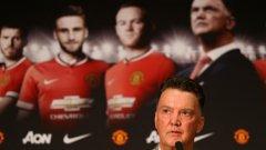 Ван Гаал записа четвърта победа начело на Юнайтед във Висшата лига