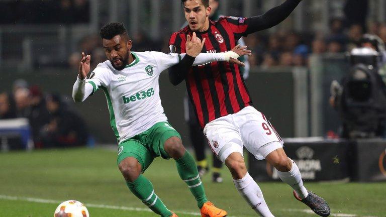 Лудогорец напуска Лига Европа разочарован, но какво може да научи от сблъсъците с Милан?