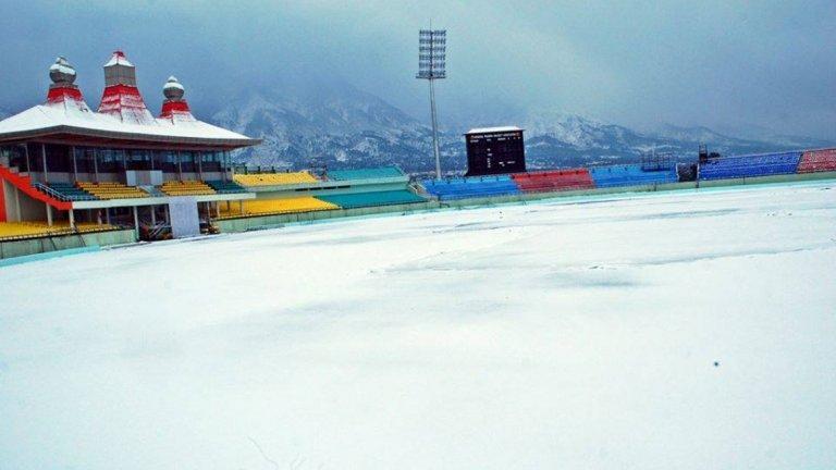 Стадион за крикет в Хималаите
