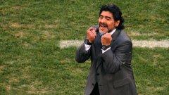 Диего Марадона не обича да си мълчи