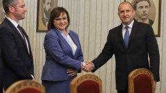 Корнелия Нинова заяви, че сега актуализацията на бюджета е по-важният въпрос