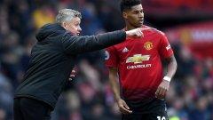 Шансовете на Юнайтед да направи обрат и този път минават през няколко треньорски решения на Солскяер - едно от които включва позицията на Маркъс Рашфорд в атака