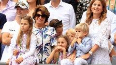 Децата на Федерер се оказаха доста предприемчиви.