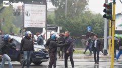 """Бившият сръбски национал бе наречен """"циганин"""" от запалянковци край стадиона и потърси физическа саморазправа с тях."""