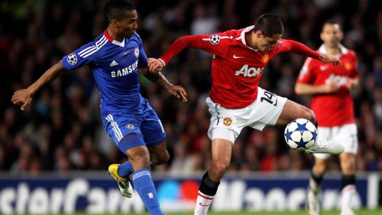 """След като бяха отстранени от Шампионската лига именно от Манчестър Юнайтед, Флоран Малуда и съотборниците му в Челси се фокусираха изцяло върху защитата на титлата си в Англия, което не е толкова нереално след нулевото равенство на """"червените дяволи"""" снощи"""