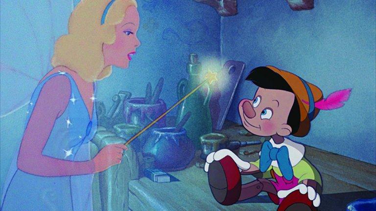 """""""Пинокио""""  Една златна класика при анимационните филми е тази за Пинокио. Тази история няма нужда от представяне, просто си я пуснете с децата и й се насладете."""