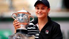 Това е общо пета титла в кариерата на 23-годишната Барти, която се изкачи стремглаво нагоре в женския тенис