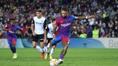 Барса загря за Ел Класико с красив обрат срещу Валенсия в дебюта на Кун