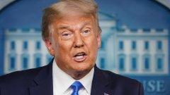 Американският президент отказва да се ангажира с признаване на евентуална загуба на изборите през ноември