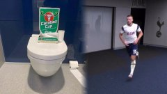 Когато си на зор, няма какво да направиш и тоалетната получава наградата за играч на мача