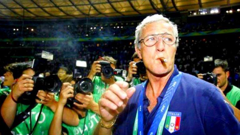 Марчело Липи - от Наполи в Ювентус и Интер Липи блесна като страхотен тактик в Наполи и след като направи име при южняците отиде в Ювентус. След това пък бе за кратко начело на Интер.