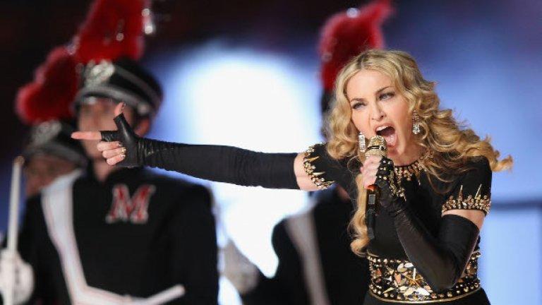 Някой да разбра за лайв албума на Мадона?
