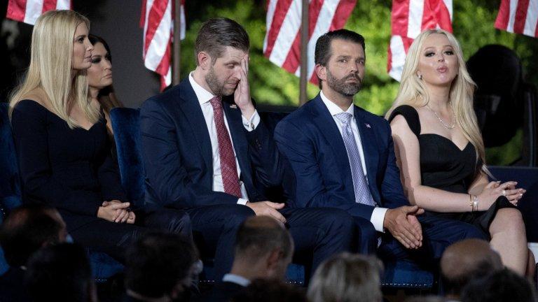 Въпреки противоречията фамилия Тръмп няма да се откаже лесно от Белия дом