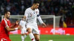 Роналдо отбеляза третия гол за отбора си при важната победа в Белград. Това беше негово първо попадение в тези квалификации