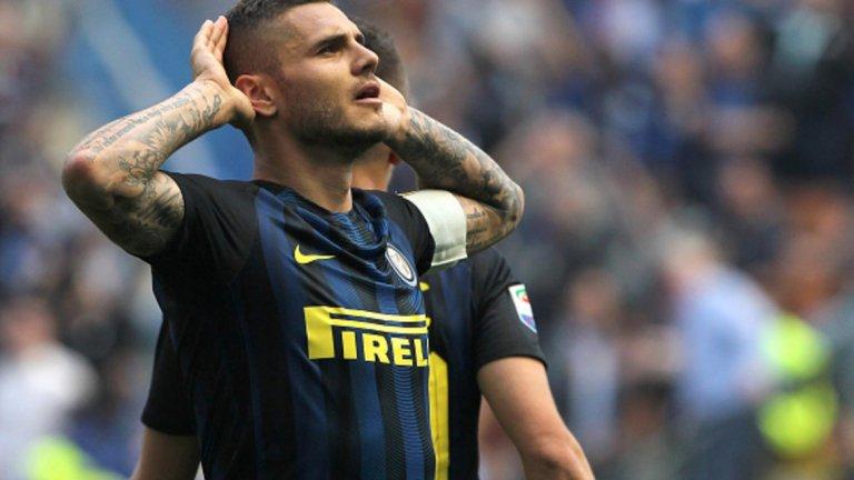 """Мауро Икарди (Интер)  Още когато капитанската лента му беше отнета през февруари, бъдещето му в Интер беше доста съмнително. Сега вече нито ръководството, нито новият треньор Антонио Конте искат Икарди на """"Джузепе Меаца"""" и остава да му се намери купувач. През последните години Икарди се доказа като топ нападател и е свързван с доста клубове, но предпочита да остане в Италия, затова Ювентус и Наполи са най-вероятните опции пред него."""