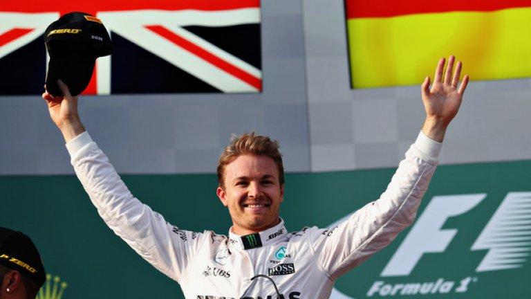 Лидерът в шампионата Нико Розберг ще преговаря за нов договор с Mercedes, а по сегашния си получава 15,5 милиона долара на сезон