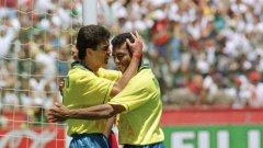 Преди 24 години бившият съотборник на Христо Стоичков в Барселона реализира 5 попадения на световното в Щатите.