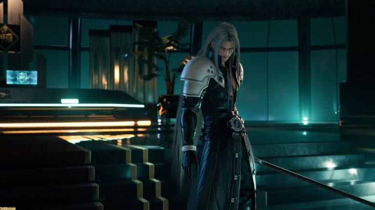 Sephiroth - Final Fantasy 7  Без съмнение Sephiroth е най-култовия злодей във вселената на великата поредица и последния сблъсък с него във Final Fantasy 7 има немалка роля за това. Той се спуска ефектно от небето, а секунди по-късно започва зрелищна битка, която ще изисква цялото ви внимание и умения, за да я спечелите.