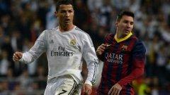 Роналдо и Меси вече задминаха легендата на Реал Раул по голове в Шампионската лига
