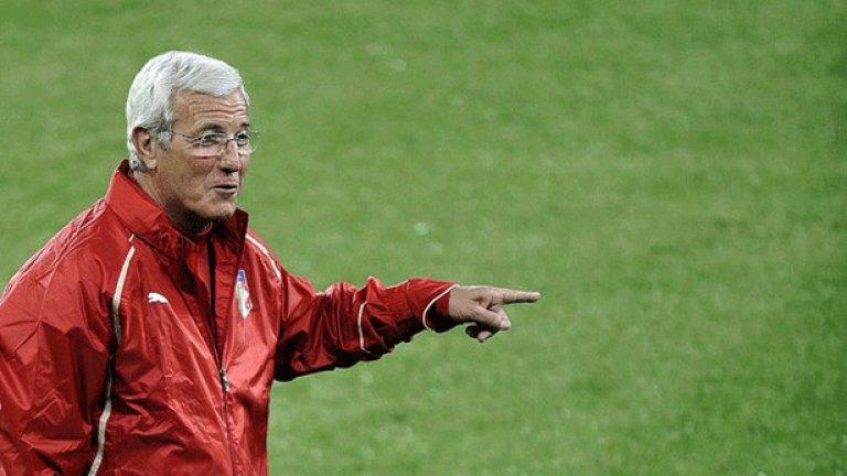 Марчело Липи се ядосва на журналистическите клишета за италианския футбол