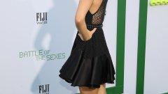 """Мария Шарапова на премиерата на филма """"Битката на половете"""""""