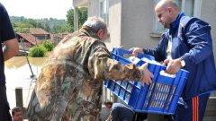 Пази Боже от бедствие по време на предизборна кампания (Вижте снимките)