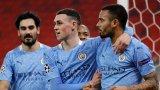 Фамозната серия на Сити продължава и в Шампионската лига