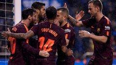 Супер Меси донесе 25-ата за Барселона!