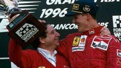 Жан Тод посещава редовно Михаел Шумахер в дома му в Швейцария