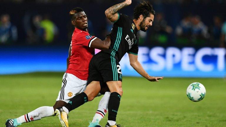 Погба е щастлив в Юнайтед, но вижда Реал като мечтан клуб за всеки футболист