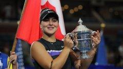 Андрееску пренаписа историята на канадския тенис с победата на финала
