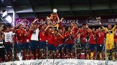 Испания стана първият отбор, печелил три големи първенства поред