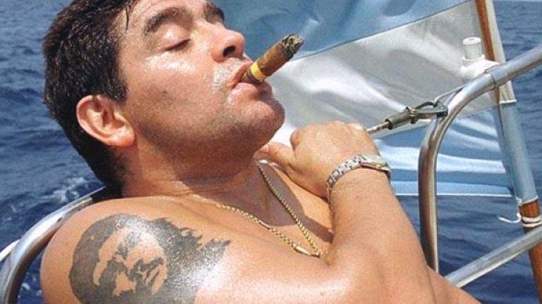 Диего Марадона...