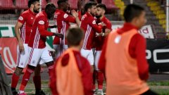 ЦСКА се възстанови от загубата от Берое с разгром над Витоша Бистрица