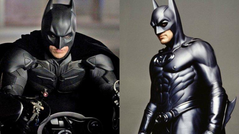 """Може да се спори по въпроса кой е най-добрият Батман на всички времена, но Крисчън Бейл определено промени представите на феновете след появата си в Batman Begins от 2005 г. на Кристофър Нолан. Бейл замени в ролята Джордж Клуни, чийто """"Батман и Робин"""" е смятан за най-слабия опит за екранизация по сагата."""
