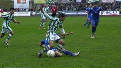 Левски отбеляза три голаа срещу Берое и се върна на четвърто място в първенството