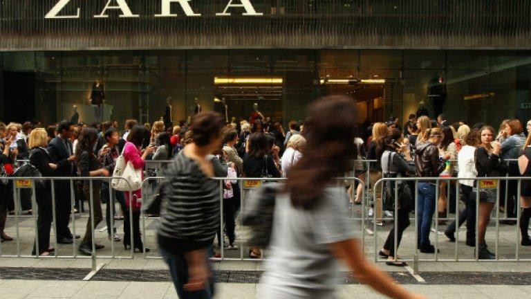"""Компанията """"Зара"""" е сред лидерите в бързооборотните дрехи... които се разпадат"""
