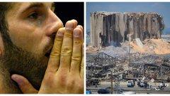 """""""Мой приятел загина пред децата си. Всичко се срина за 30 секунди"""": Разказът на легендарния Ливански Тигър за трагедията в Бейрут"""