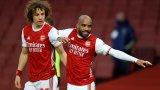 Арсенал обърна Тотнъм въпреки виртуозен гол на Ламела (видео)