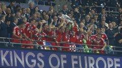 През май Байерн спечели Шампионската лига, но сега отстъпи на Дортмунд.