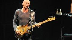 Стинг ще пее в София на 16 септември.