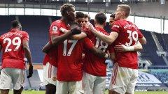Юнайтед сложи край на мечтите на Моуриньо за топ 4