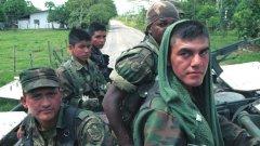 """Колумбийски войници от батальона, който през 2000 г. започва да прилага """"Планът Колумбия"""""""