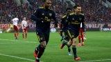 Голът на Лаказет реши мача и доближи Арсенал до следващата фаза